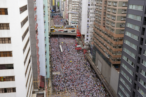 Demonštrácie proti navrhovaným zmenám