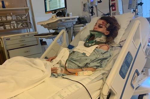Karmen si v nemocnici