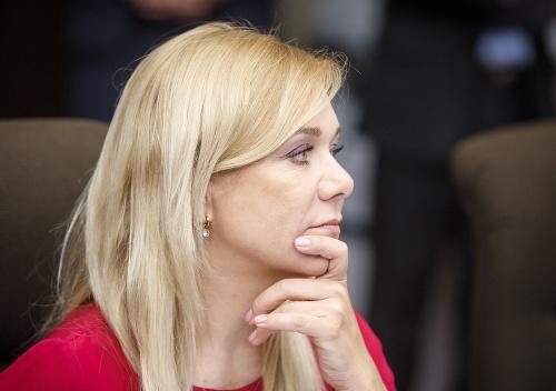 Ministerka vnútra Denisa Saková
