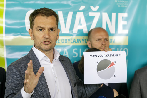 Igor Matovič predstavil novú