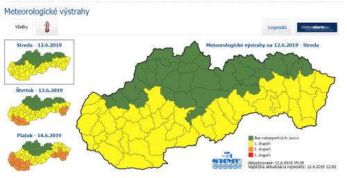 Na Slovensko udreli horúčavy.