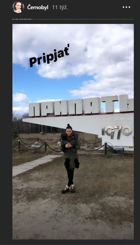Slovenská moderátorka okúsila Černobyľ