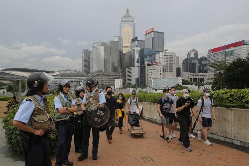 Protesty v Hongkongu neutíchli: