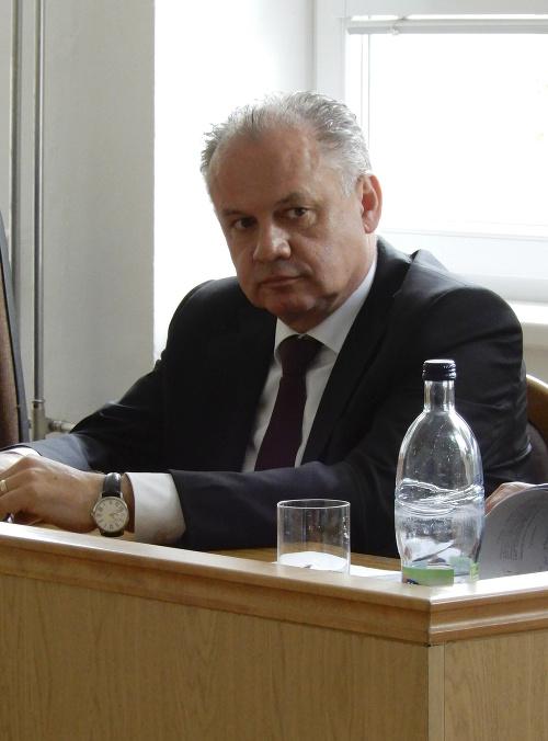 Andrej Kiska na súde