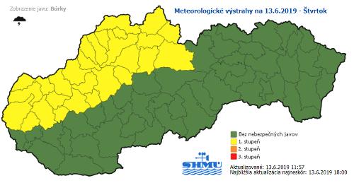 Horúčavy budú gradovať: MAPA