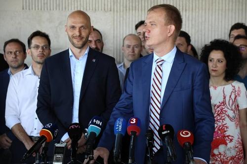 Lídri strán Progresívne Slovensko
