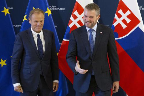 Donald Tuska a Peter