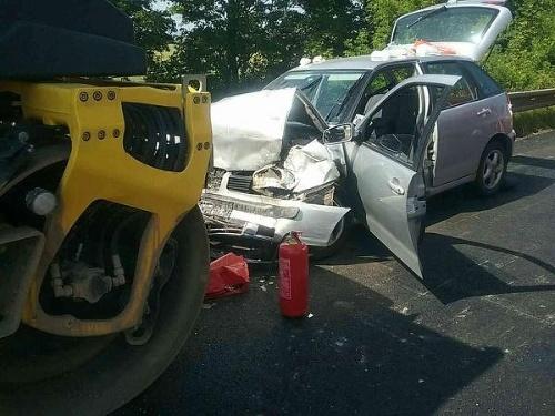 PRÁVE TERAZ Nehoda na