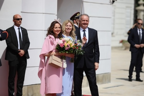 Inaugurácia prezidentky Čaputovej