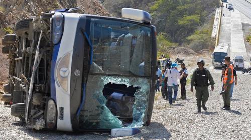 Havária autobusu si