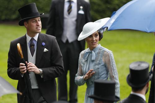 Vojvodkyňa Kate prišla na