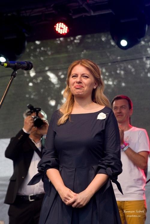 VIDEO Čaputová sa odviazala