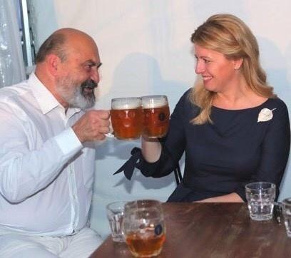Zuzana Čaputová a Tomáš