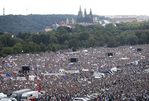 Najväčší protest za posledných