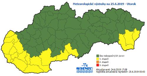 Na Slovensko prídu opäť