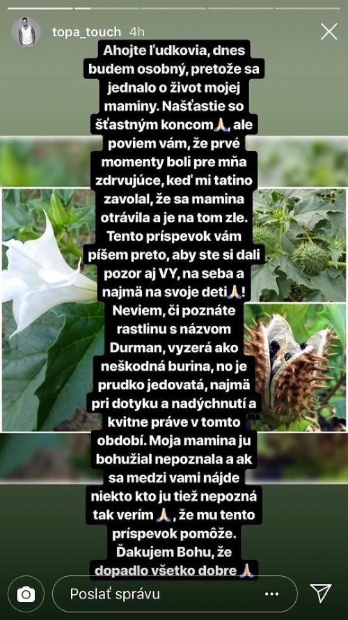 Mama známeho Slováka sa