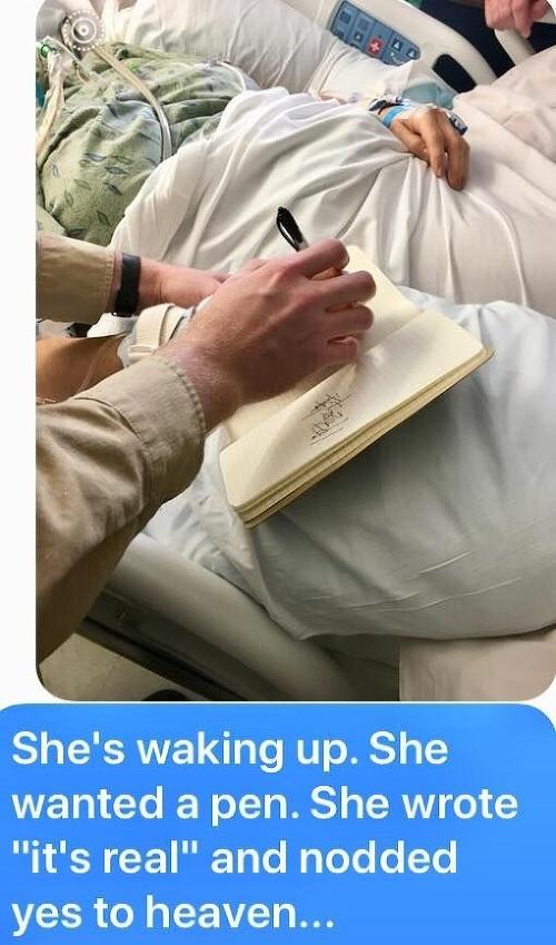 Žena sa zobudila z