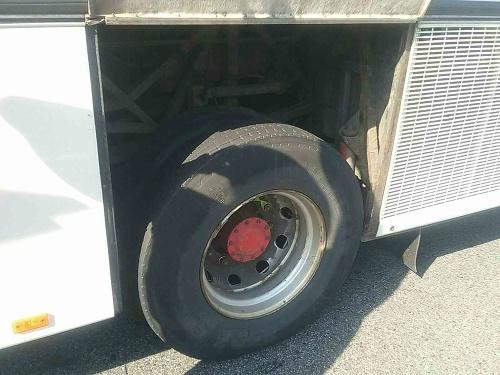 Hasiči zachránili autobus plný