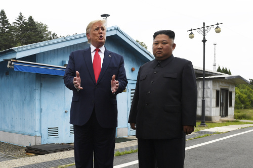 Donald Trump sa stretol