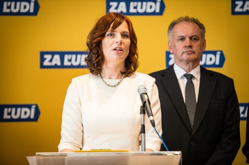 Veronika Remišová a Andrej
