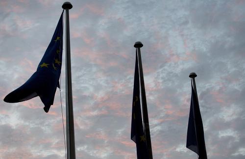 Vlajka Európskej únie sa