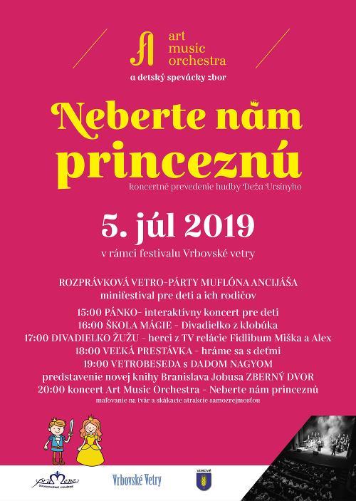 Festival Vrbovské Vetry zverejňuje