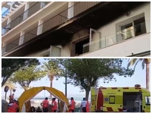 Hotel museli evakuovať