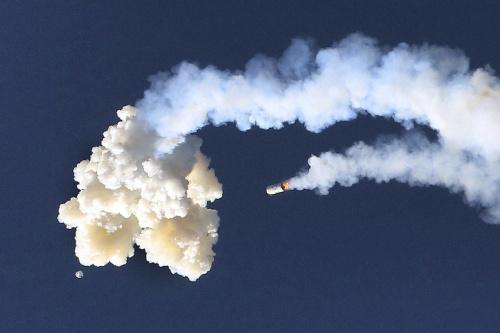 NASA otestovala únikový systém