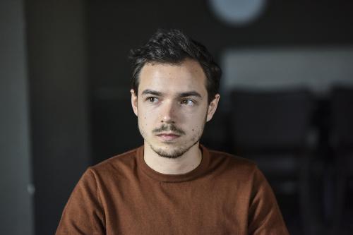 Slovenský herec Dávid Hartl