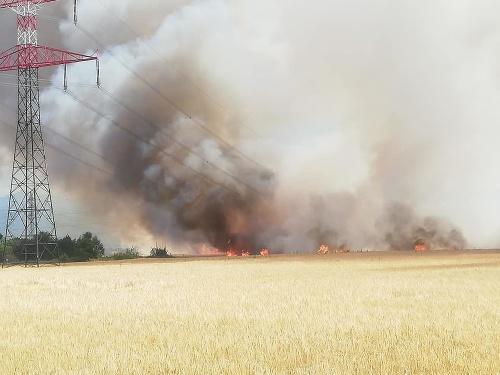 Požiar v Sučanoch.