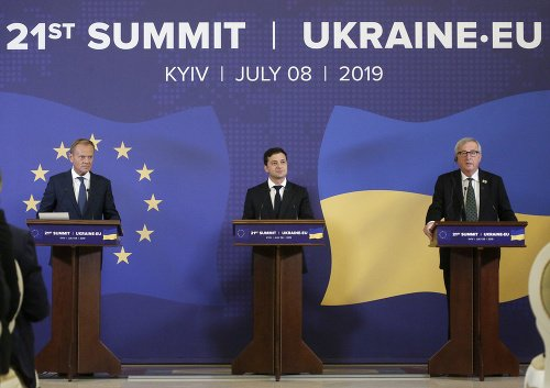 Ukrajinský prezident Volodymyr Zelenskyj,