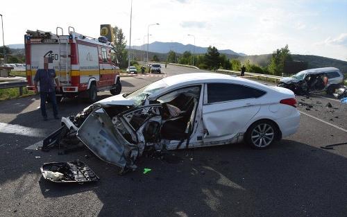 Dopravná nehoda v Novákoch