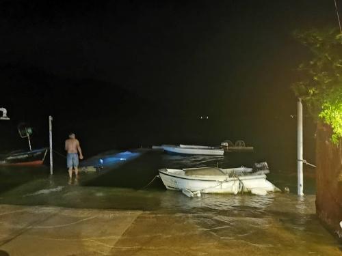 Meteorologické cunami v Chorvátsku.