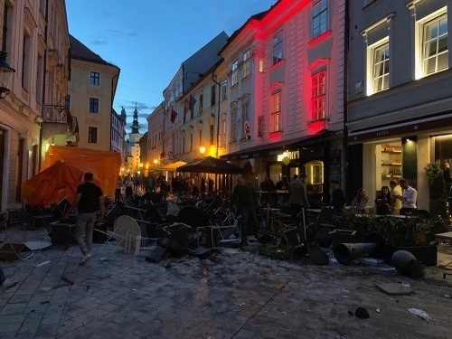 Na Ventúrskej ulici došlo