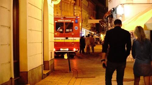 Záchranári ošetrovali v bezpečnej