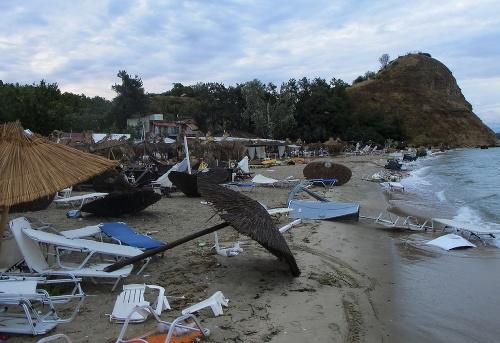 Živelná pohroma v Grécku: