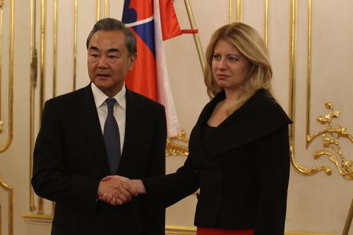 Minister zahraničných vecí Čínskej