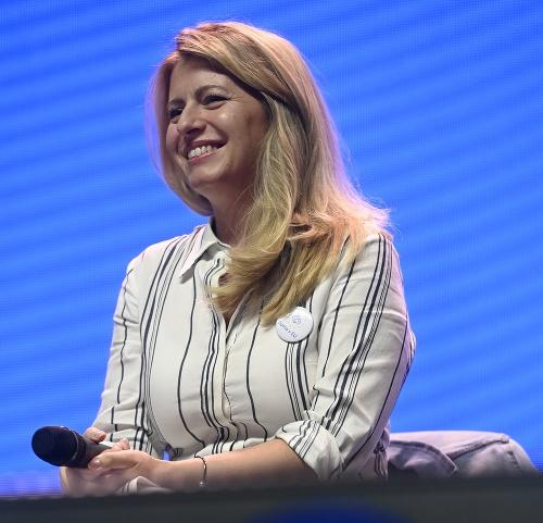Zuzana Čaputová bola hosťom