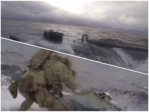 V ponorke prevážali tony