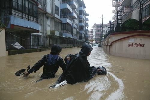 Záplavy a zosuvy pôdy