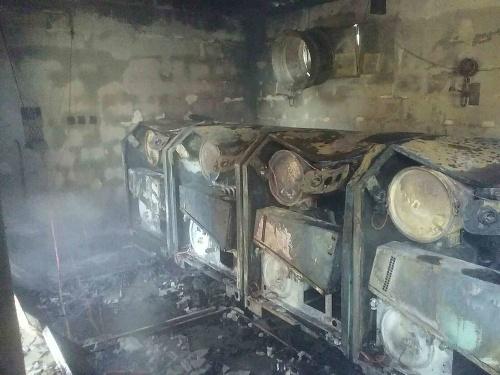 Požiar v čistiareni odpadových