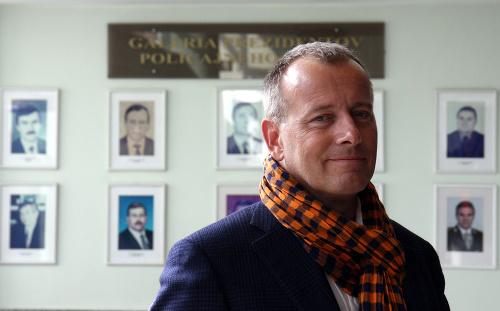 Boris Kollár na Prezídiu