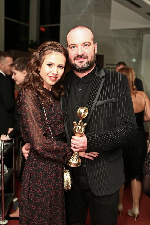 Ivan Tásler s manželkou