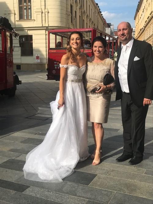 Malachovskej FOTO zo svadobnej