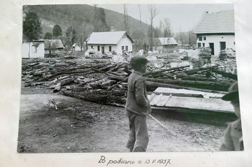 Mohutný požiar v roku