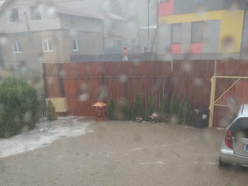 Blesková povodeň v obci