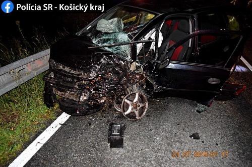 Vážna dopravná nehoda v