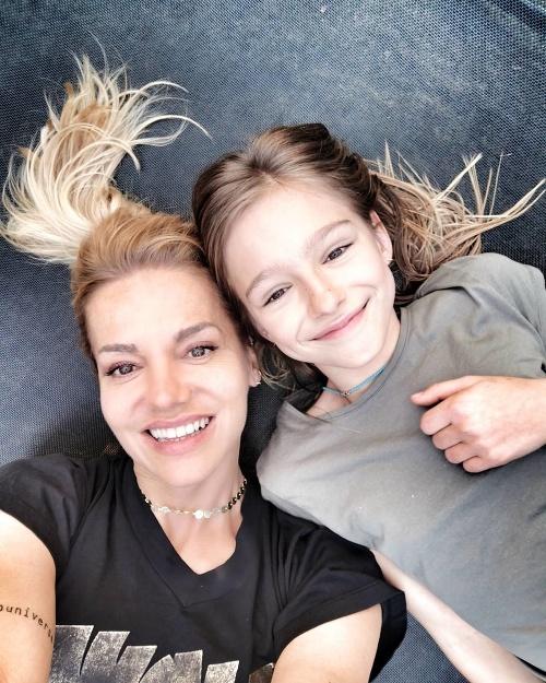 Dara Rolins s dcérou