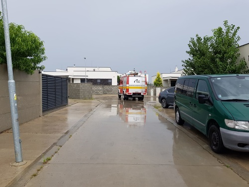 Dažde v Rovinke