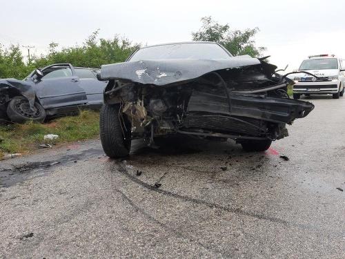 FOTO Pri nehode v